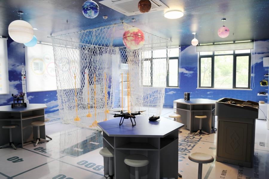 航空航天 科技教室设计 航天航空教室解决方案