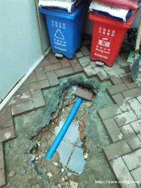 地下水管漏水检测找广州光铭测漏专家,开挖维修收费低